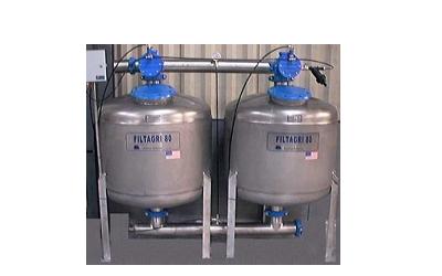Batterie filtranti INOX a quarzite